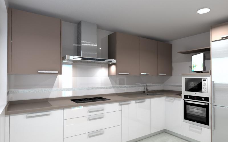 Cómo diseño mi cocina? - Cocinas Oregon - Instalación y Diseño de ...