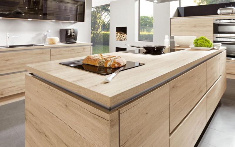 Por qu elegir una encimera de madera para mi cocina - Encimera de madera para cocina ...