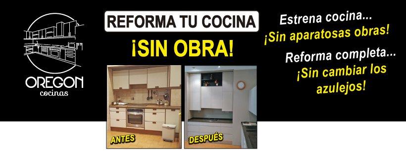 Reforma de cocina sin obra