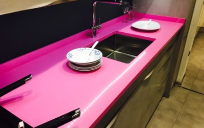 Silestone acqua fraccaroli & Love (Rosa) ¡Disponibles!