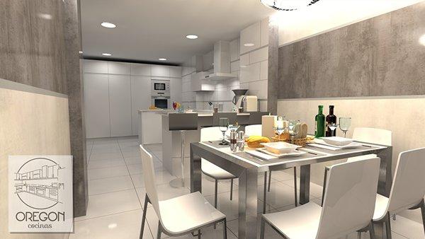 Reforma de cocinas en valladolid oregon al mejor precio for Muebles cocina valladolid