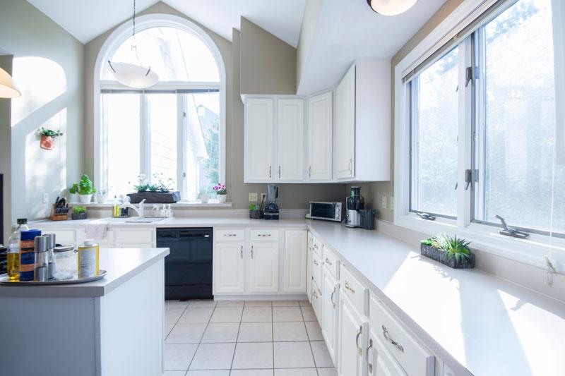 Ventaja cocina blanca