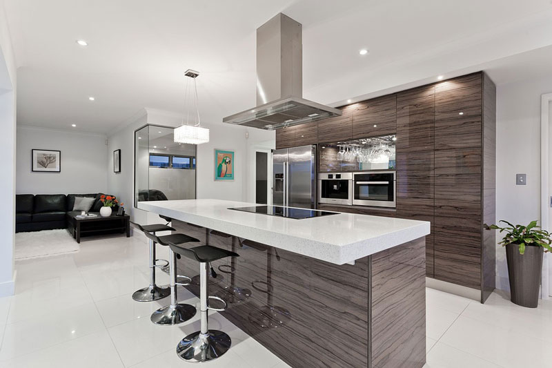 Cómo instalar en la cocina una barra americana? - Cocinas Oregon ...