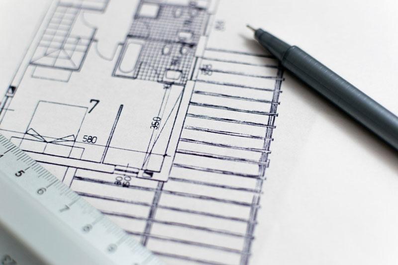 dibujar plano para medir
