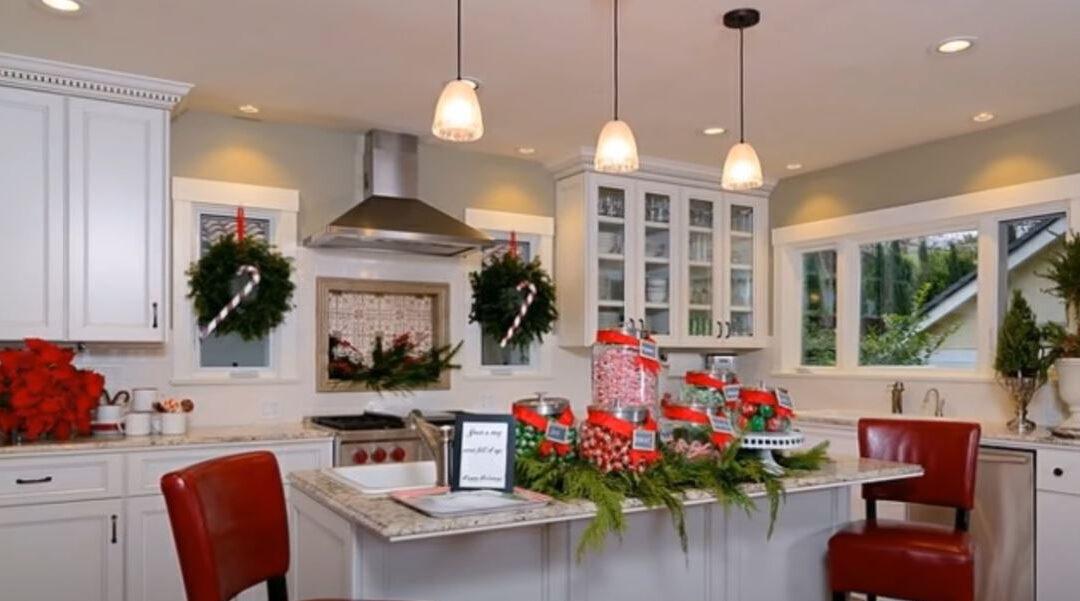 Ideas para decorar tu cocina en navidad