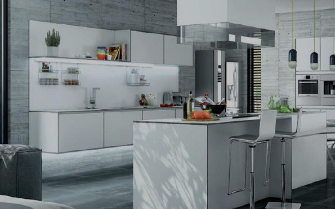 Ideas para instalar una barra americana en la cocina