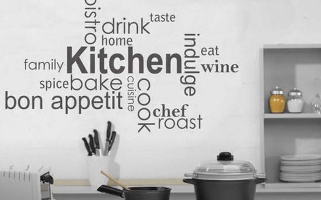 Decoraciones de pared para cocinas: Renueva tu hogar